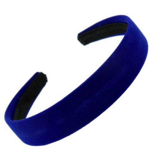 Coloured Velvet Feel 2.5cm Alice Hair Band